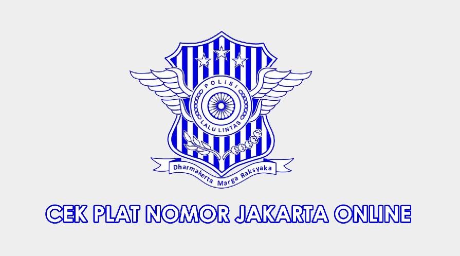 CEK PLAT NOMOR JAKARTA